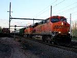 BNSF 6412 on K140